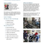 Pulmonary Rehabilitation Flyer for Peace Health Hospital, Florence