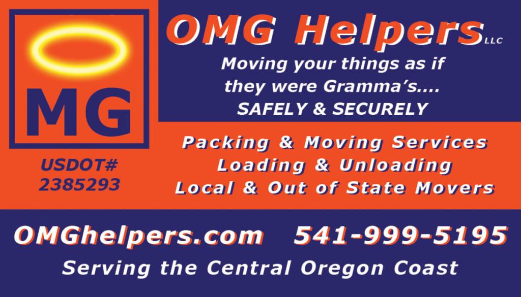 OMG Helpers Inc. – Business Card