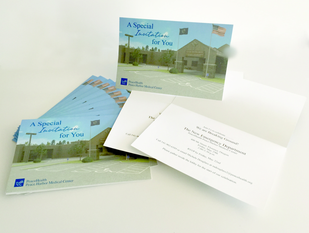 PeaceHealth Hospital – Invitations