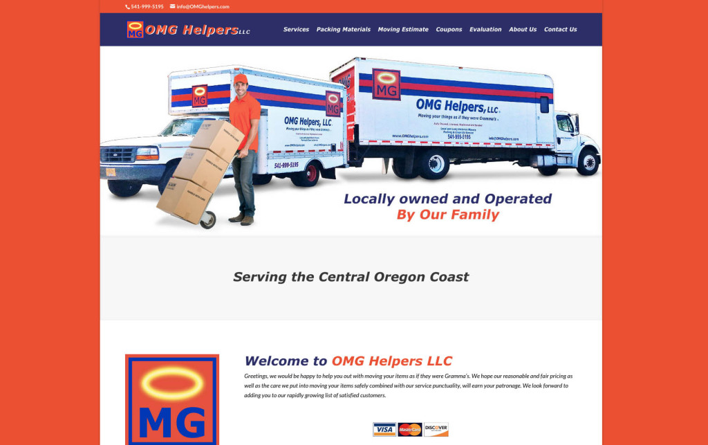 OMG Helpers – Website
