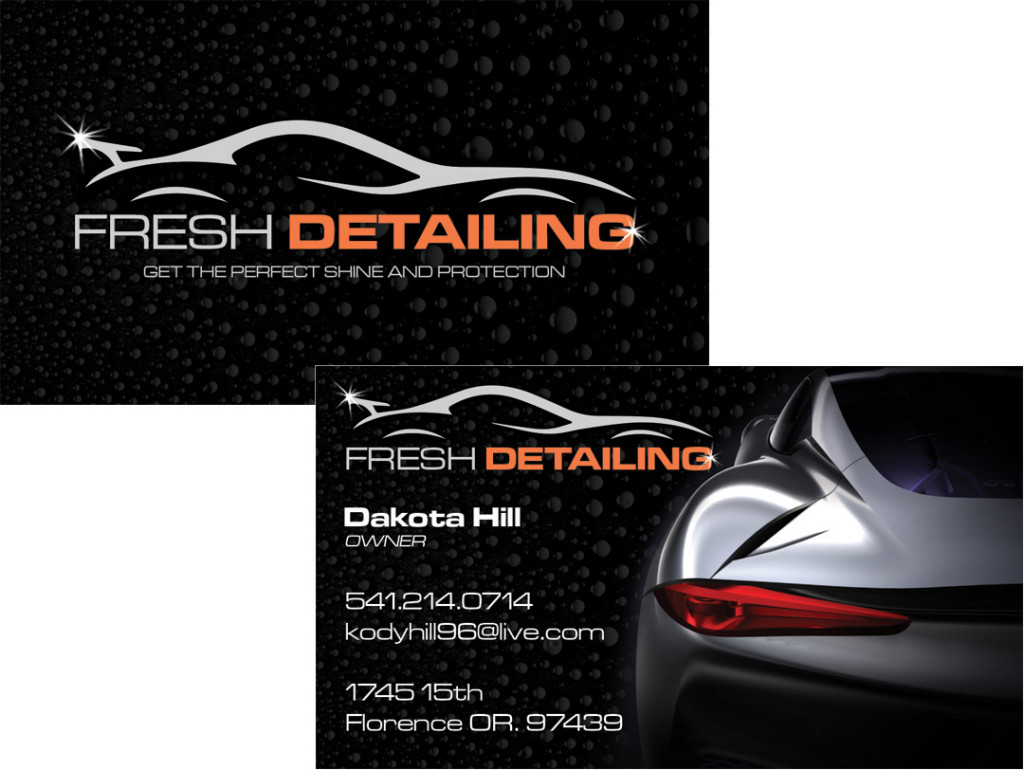 Fresh Detailing – Business Card