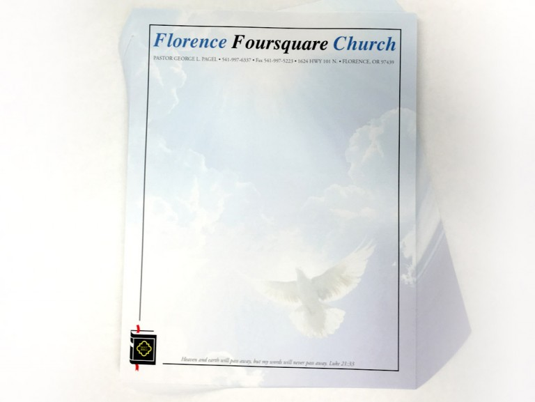 Florence Foursquare Church – Letterheads