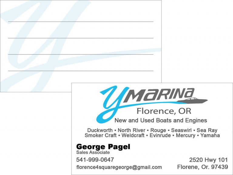 Y Marina – Business Card