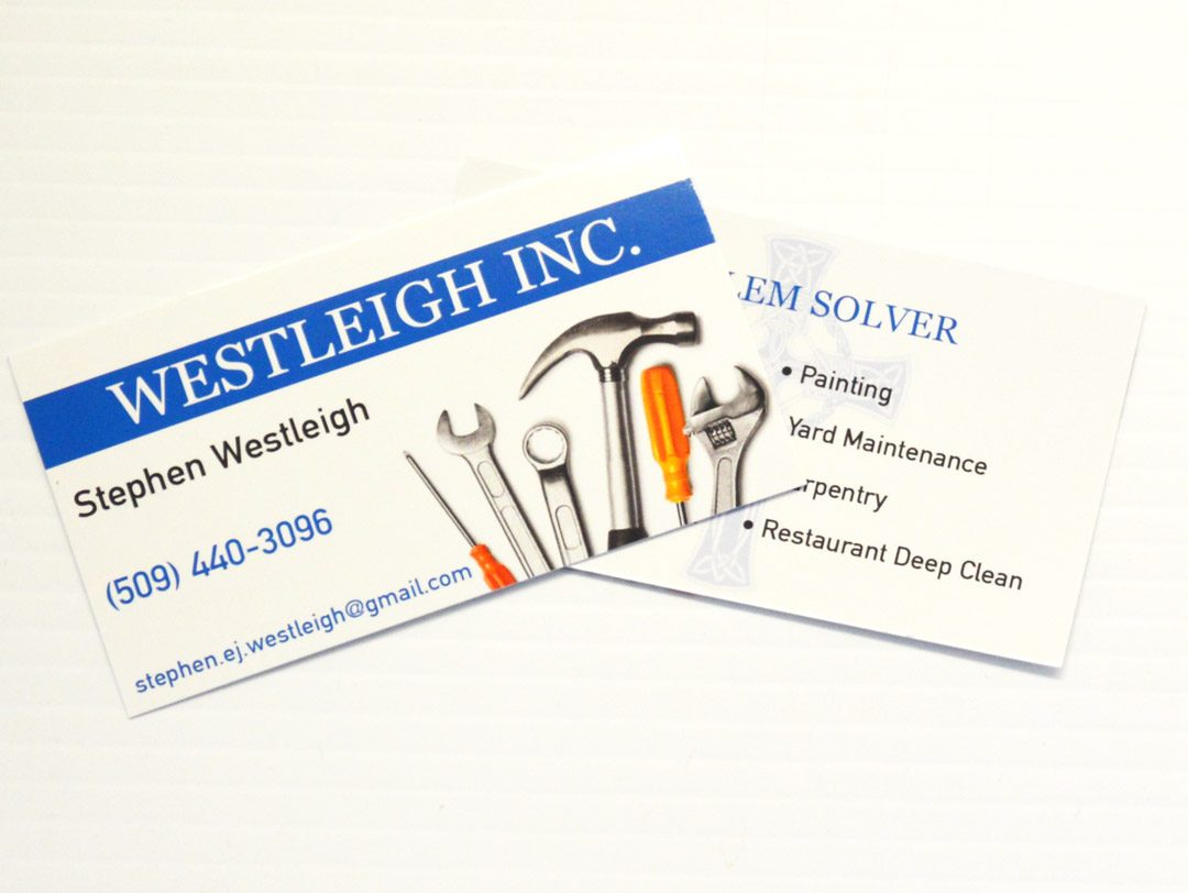 Westleigh Inc. – Business Cards