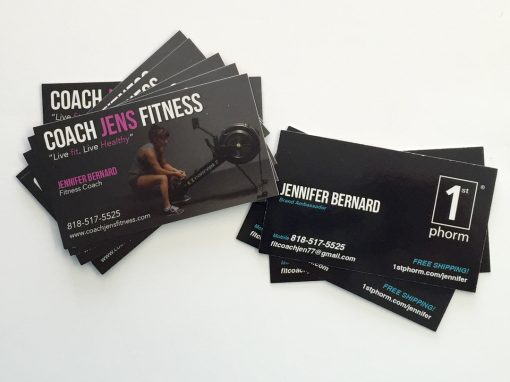Coach Jens Fitness – Business Card