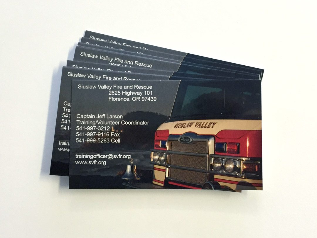 SFVR – Business Cards