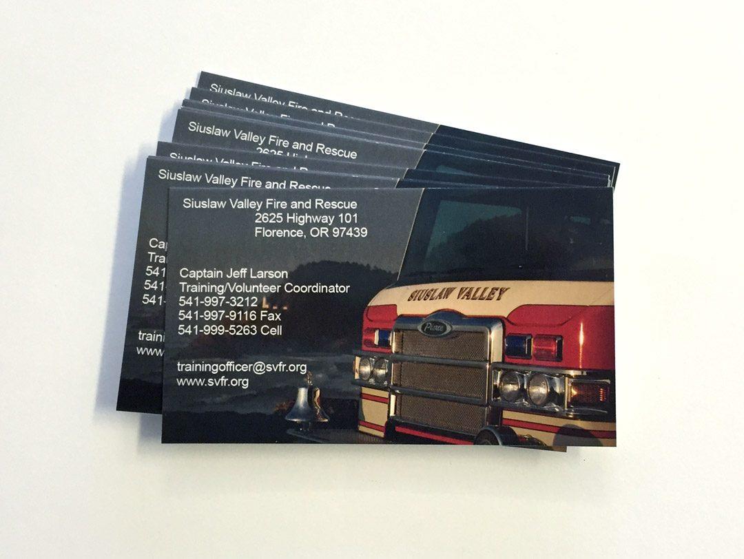SFVR – Business Cards