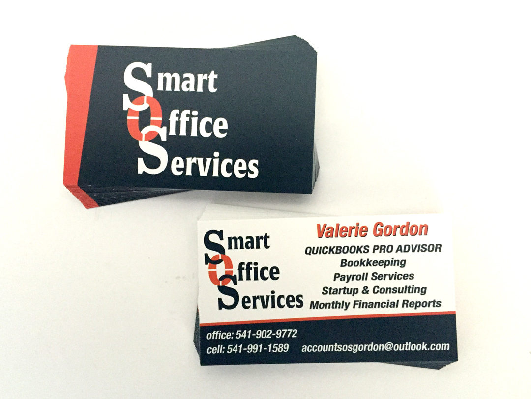 Smart Office Services – Business Cards