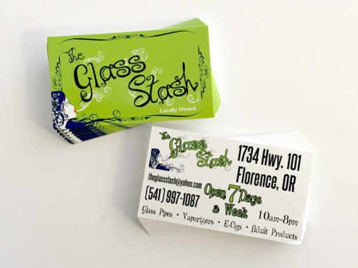 The Glass Stash – Business Cards