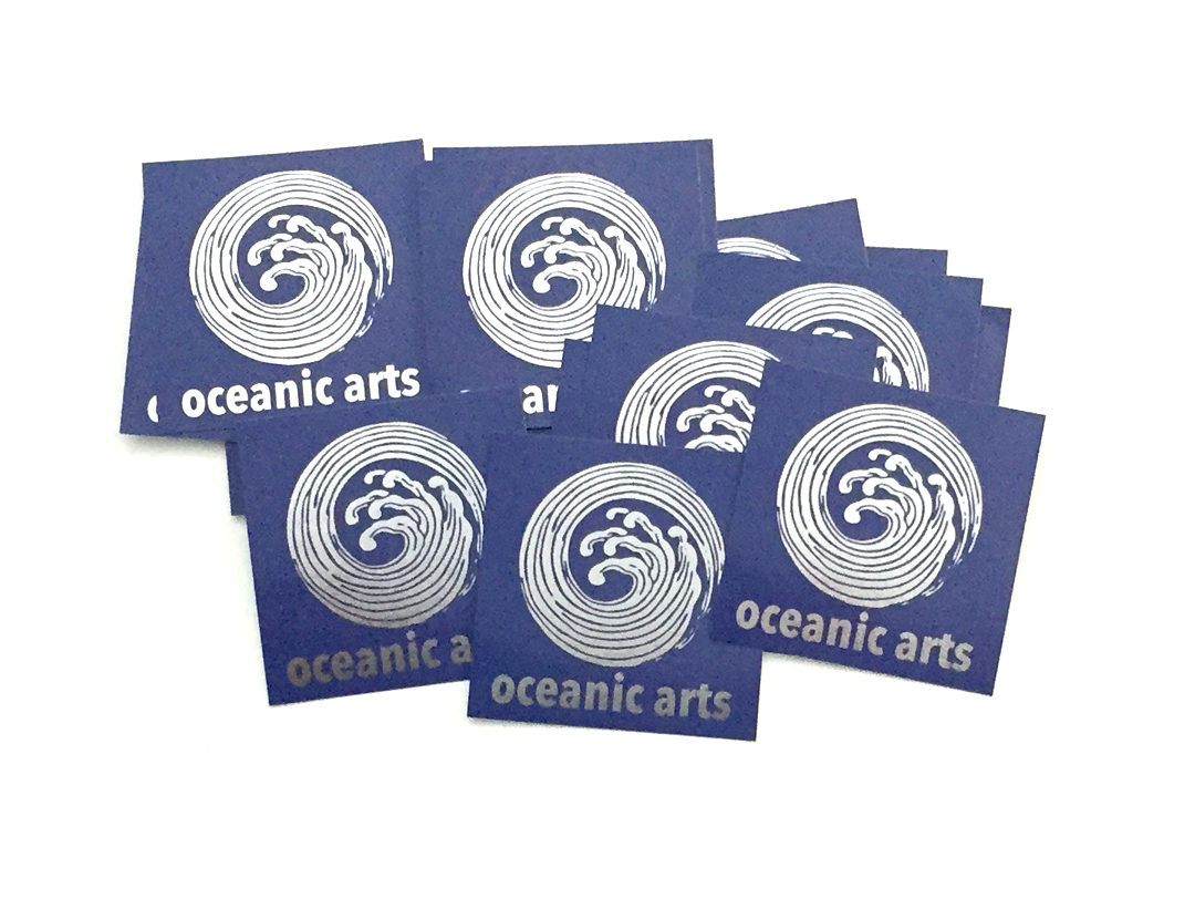 Oceanic Arts – Foil Stickers