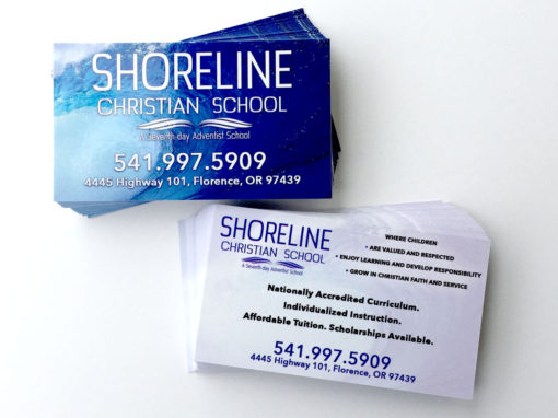 Shoreline Christian School – Business Cards