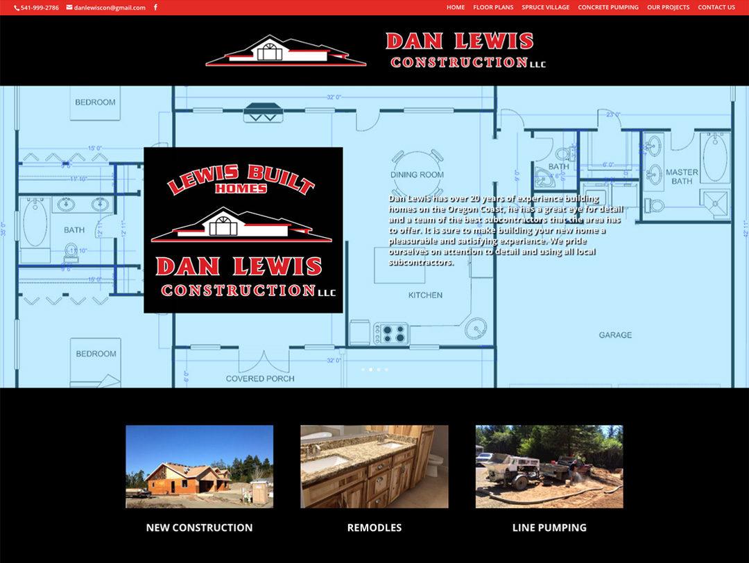 Dan Lewis Construction – Website