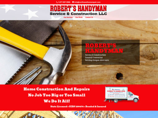 Robert's Handyman – Website