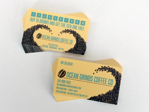 Ocean Grinds Coffee Co. – Business Cards