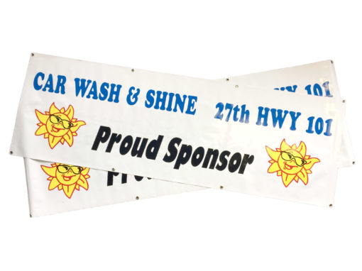 Car Wash & Shine – Banner