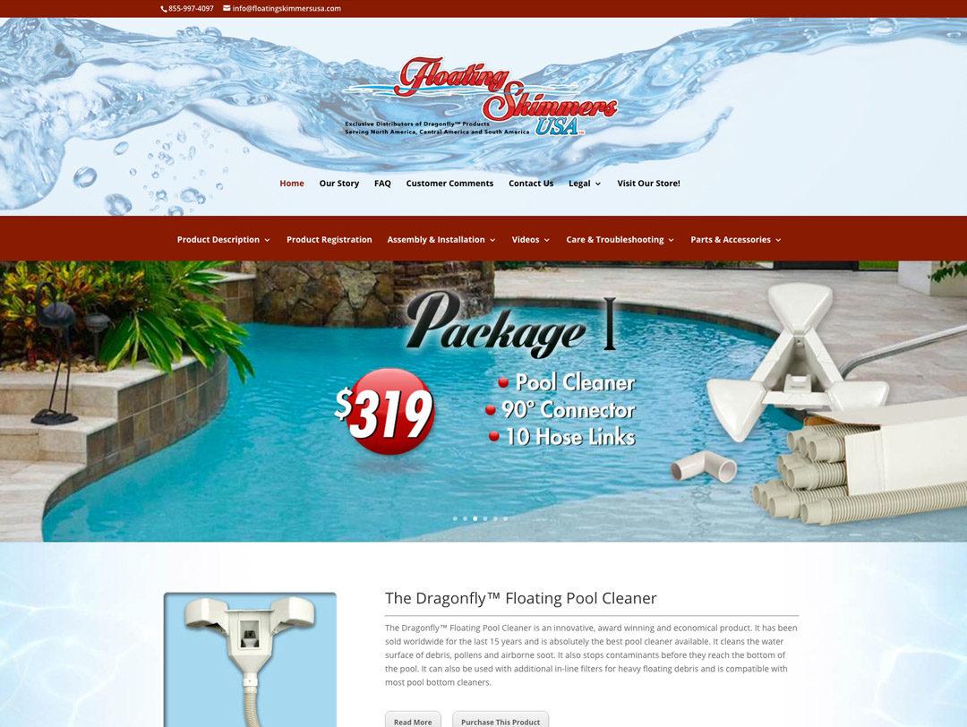 Floating Skimmers USA – Website
