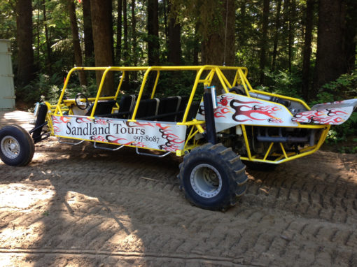 Sandland Adventures – Vinyl Graphics