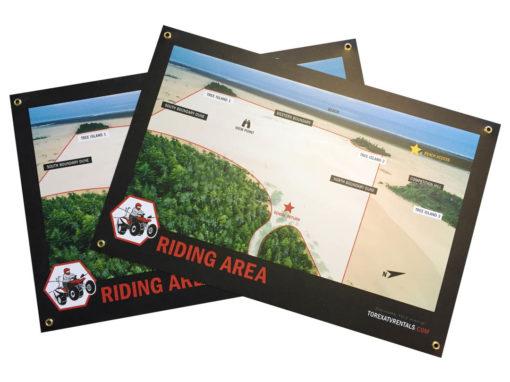 Torex ATV Rentals – Riding Map
