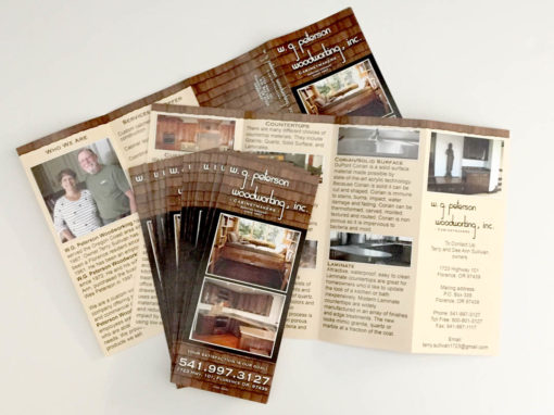 W.G. Peterson Woodworking – Brochure