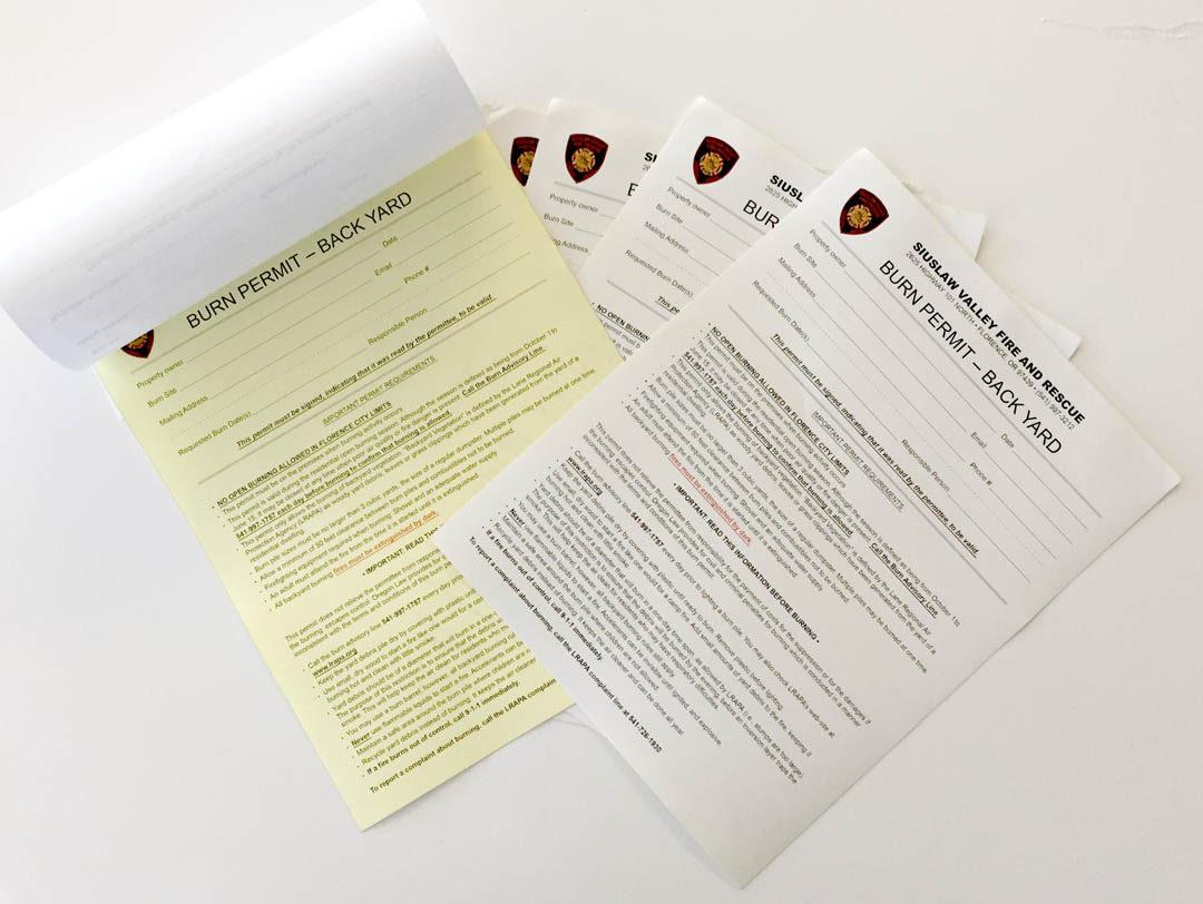 SVFR – NCR Forms
