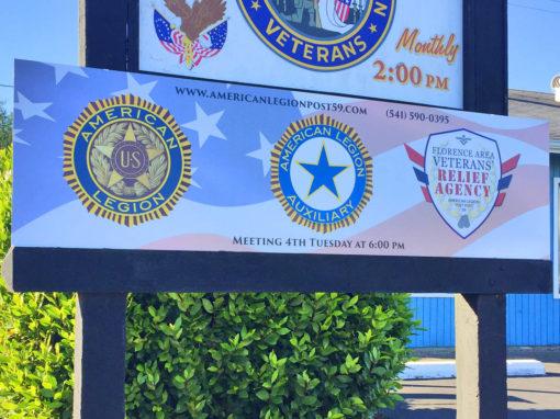 American Legion – Sign