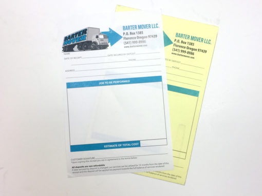 Barter Mover – NCR Forms