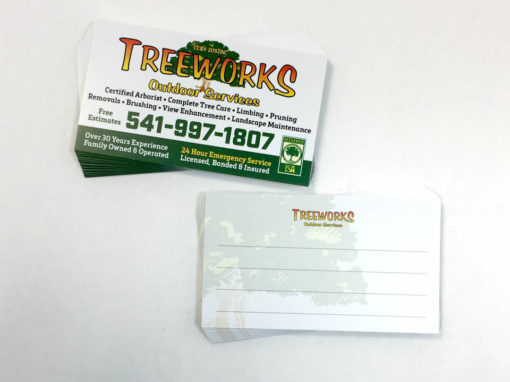 Treeworks – Business Cards