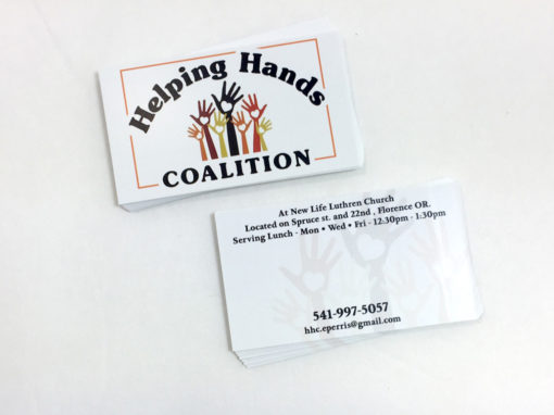 Helping Hands – Business Card