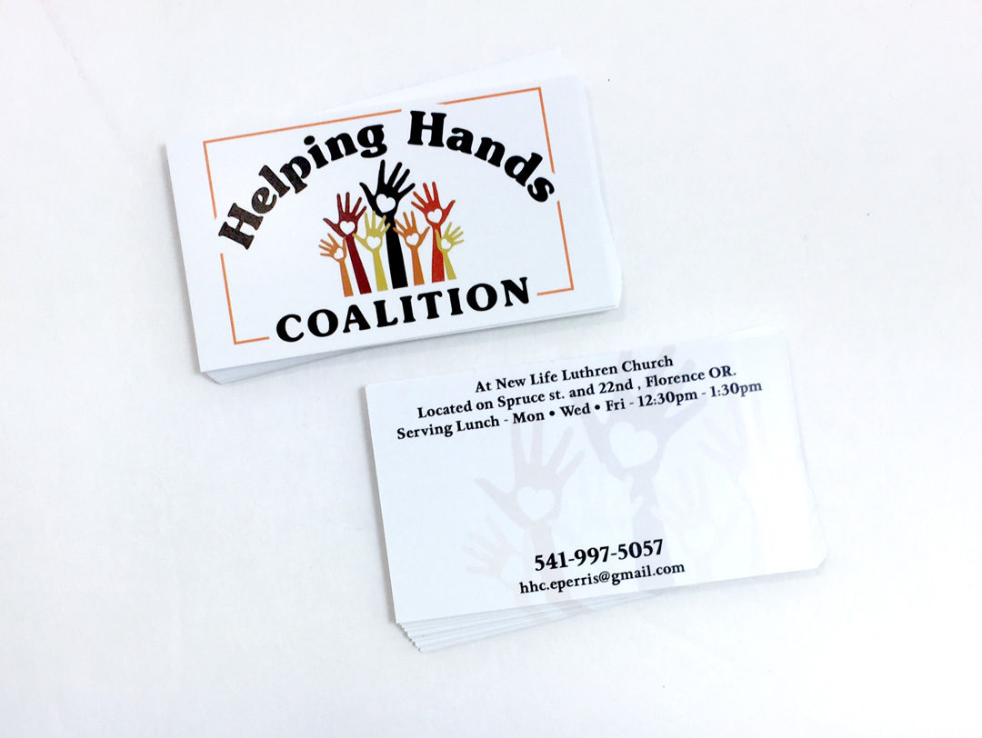Helping Hands – Business Cards
