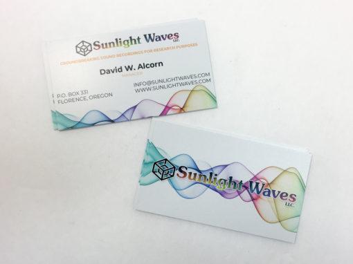Sunlight Waves – Business Card