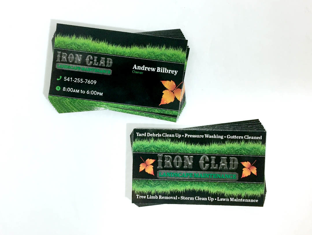 Iron Clad – Business Cards